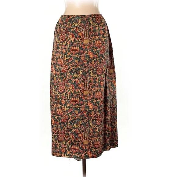 3e264c209f1 Peruvian Connection Skirts | New Maxi Tribal Printed Skirt | Poshmark